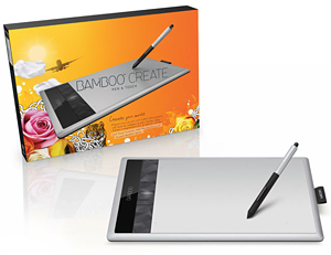 Wacom Bamboo Create Pen and Touch Tablet