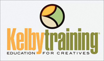 Learn from the pros with Kelby Training