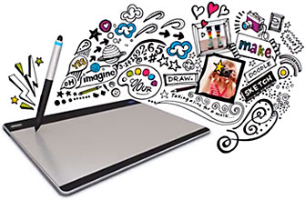 Intuos Pen and Touch Graphic